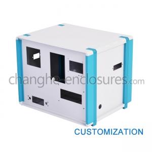 Aluminum & Plastic desktop enclosure 02D - Changhe